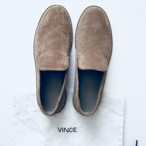 Vince Percell Suede Loafers - EUC